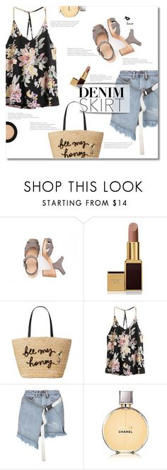 """Kulikstyle"" by smajlovicelvira ❤ liked on Polyvore featuring Tom Ford, Kate Spade, Palm Angels, Chanel and Revlon"
