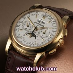 """Patek Philippe Perpetual Calendar Chronograph - """"100 Pieces"""" REF: 5970J   Year Jul 2008 - Only in production for a single year, it is said that Patek only produced 100 examples of the 5970 in yellow gold... With numbers like that it is no wonder that the 5970J is seen by the world as one of the very best wristwatch investments out there. Combining the iconic complications of perpetual calendar with chronograph the 5970 is the grandchild of the legendary Watch Club favourite ref. 2499"""