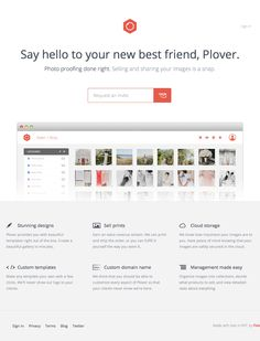 Plover Landing Page