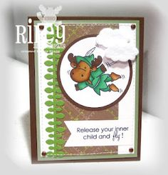 card by Joy Stagg using new images from Riley and Company