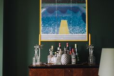 "TOUCH this image: Duncan: ""The poster is from a David Hockney retrospective... by FvF"