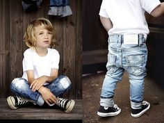 I dig denim, jeans #kids #children #wear