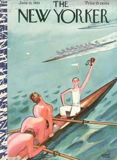 The New Yorker - Saturday, June 15, 1935 - Issue # 539 - Vol. 11 - N° 18 - Cover by : Garrett Price
