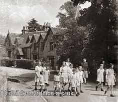 Penkhull Children's Homes 1901 operated until 1980 erected by Stoke Guardians. Stoke City, Stoke On Trent, Coal Mining, 9 Year Olds, Kids House, Old Pictures, Newcastle, Britain, The Past
