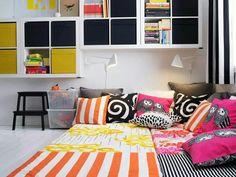 Beautiful.. How to pillows @ IKEA