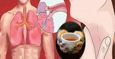 Συνταγή καθαρισμού των πνευμόνων από φλέγμα, τοξίνες και φλεγμονές!