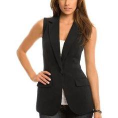 Over sized black vest