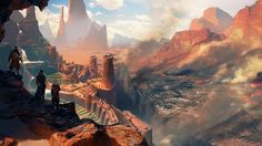 Screenshots of Dragon Age Inquisition's Western Approach