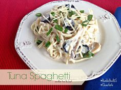 Tuna Spaghetti | An Affair from the Heart @bumblebeefoods #BumbleBeeB2S #CleverGirls #Albacore #Tuna #spaghetti #kidfriendly #familymeals