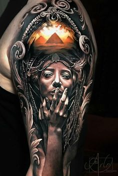 Holy crap that's 1 of the BEST realistic tattoos I've ever seen!!! #tattoo by Arlo DiCristina