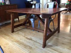 2x4 Truss Table - Modified | Do It Yourself Home Projects from Ana White