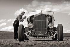 1932 Ford Flathead hi boy