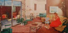 1950s interior design | 1950s Vintage Interior Design Photo - a photo on Flickriver