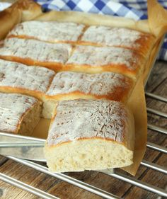 Savoury Baking, Bread Baking, Bread Recipes, Baking Recipes, Delicious Desserts, Yummy Food, Our Daily Bread, Pizza, No Bake Cake