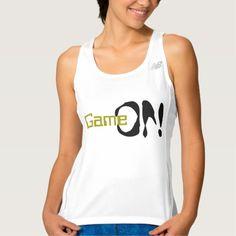 Sportswoman Game On Workout Tank Top