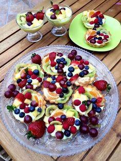 Éhezésmentes karcsúság Szafival - Vaníliás gyümölcskosár Fruit Salad, Barbie, Food, Pies, Fruit Salads, Essen, Meals, Yemek, Barbie Dolls