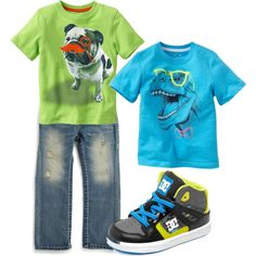 Neon Toddler Boy Fashion