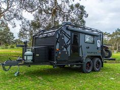 Camper Trailers For a Good Camping Expertise - Crithome Off Road Camper Trailer, Car Trailer, Utility Trailer, Truck Camper, Camper Trailers, Expedition Trailer, Overland Trailer, Expedition Vehicle, Camping 2