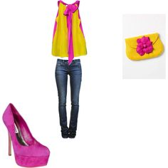 spring night out, created by amhelmly on Polyvore
