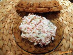 Rychlá a hlavně výborná pomazánka - náš favorit i na chlebíčky šunkáček-šunkový salám