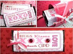 Free printable v-day candy wrapper