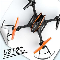 84.75$  Buy now - http://alijek.worldwells.pw/go.php?t=32421120243 - RC Drone UDI U818S U842 Remote Control Quadcopter with optional Camera 5.0 mp RC Helicopter video toy VS X5SW X5C F181 X8C FSWB