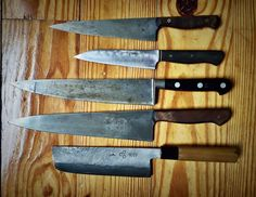 10 Knife-Buying Tips: No tools define a cook more than his or her knives. Why do you think we carry them around in rolls instead of hauling backpacks full of pots and pans? Exactly.