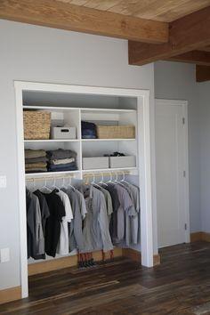 Ana White | No Paint Horizontal Closet Organizer - DIY Projects