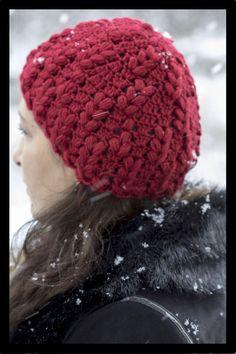 Crochet   Gorro en Punto Esponjoso. Parte 1 de Lindo gorro en Crochet Punto  Esponjoso 3370714ec2a