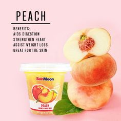 Peaches have been grown for centuries. Other than being rich in anti-oxidants, they are also helpful in fighting obesity-related diabetes and cardiovascular disease.