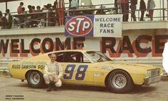 Benny Parsons # 98 Ford Torino Daytona 500 Winners, Weird Cars, Crazy Cars, Talladega Superspeedway, Old Scool, Nascar Champions, Nascar Racing, Auto Racing, Classic Race Cars