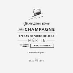 Napoléon et le champagne
