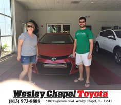 https://flic.kr/p/G5nN9G | Happy Anniversary to Christi  on your #Toyota #Corolla from Amanda Baron at Wesley Chapel Toyota! | deliverymaxx.com/DealerReviews.aspx?DealerCode=NHPF