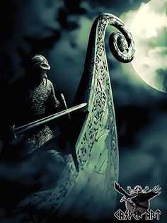 The vikings by thecasperart on DeviantArt Viking Life, Viking Art, Viking Warrior, Viking Woman, Norse Pagan, Old Norse, Norse Mythology, Tattoo Avant Bras, Les Runes