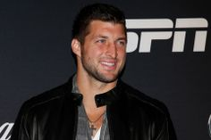 Tim Tebow at the ESPN Magazine Party January 31, 2014