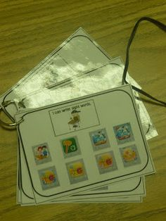 Mrs. Patton's Patch: freebies- i can for each section of daily 5 I can write my sight words, I can listen to a story