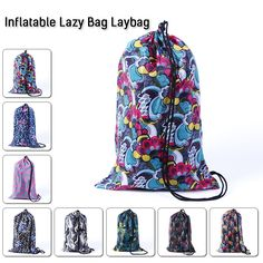 Great designs for your comfy Air Lounger, Lay Bag, Lazy Bag, Beach Bed,
