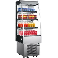 $1799.99 • Buy 250L Open Refrigerated Display Case Curtain Stalinite Air Curtain Merchandisers Beverage Refrigerator, Display Case, Auction, Curtains, Glass Display Case, Display Window, Blinds, Draping