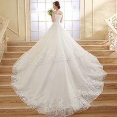 2014新款冬季齊地一字肩包肩鑽韓版時尚新娘婚紗禮服顯瘦綁帶定制-淘寶網