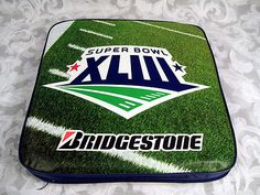 Sold NFL 2009 Super Bowl XLIII Stadium Seat Cushion Steelers Cardinals