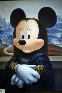 Minnie Lisa (Disney Gallery) (Gioconda / Mona Lisa)
