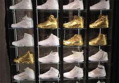 The Jordan Bastille Store Has An Impressive Air Jordan Display
