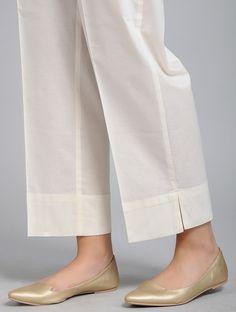 Salwar Designs, Kurti Neck Designs, Kurta Designs Women, Blouse Designs, Kurti Sleeves Design, Sleeves Designs For Dresses, Trousers Women, Pants For Women, Salwar Pants