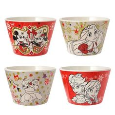 Disney Christmas Bowls