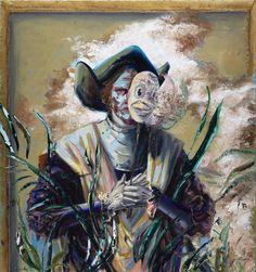 Columbus,oil on canvas, 160x150, 2017