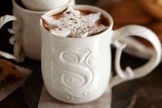 A cup of cocoa that's truly your own.Sorry Im pretty sure its not melamine.Cor