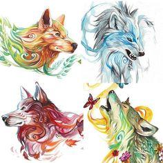wolf / beautiful