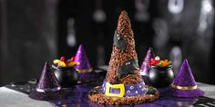 Giant and chocolatey, this Halloween work of art looks and tastes so good, it will have you and your party guests under its spell.