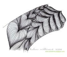 Heartstrings Tangle Pattern