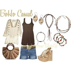BoHo Casual, created by Bernetta Glasser~The Silver Gypsy